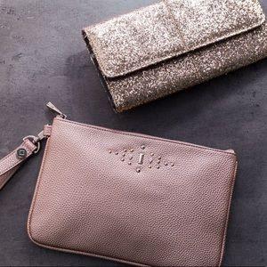 • thirty one • rubie clutch bag in deep merlot